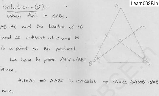 RD-Sharma-class 9-maths-Solutions-chapter 10-Congruent Triangles-Exercise 10.3-Question-5