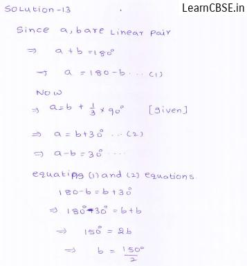 RD-Sharma-class 9-maths-Solutions-chapter 8 - Lines and Angles -Exercise 8.2 -Question-13
