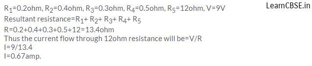 lakhmir singh physics class 10 online Chapter 1 Electricity Q14 Page 38