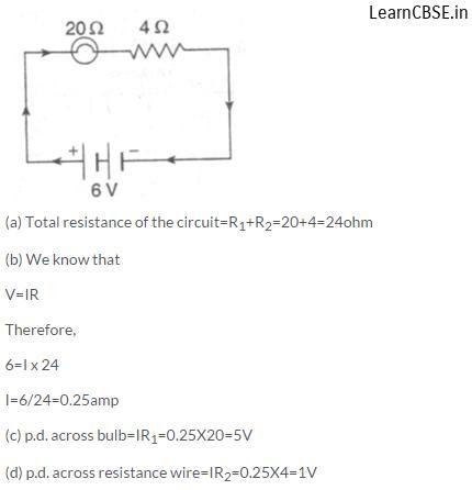 lakhmir singh physics class 10 online Chapter 1 Electricity Q15 Page 38