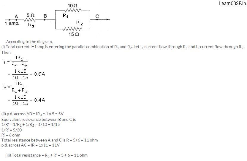 lakhmir singh physics class 10 online Chapter 1 Electricity Q16 Page 38