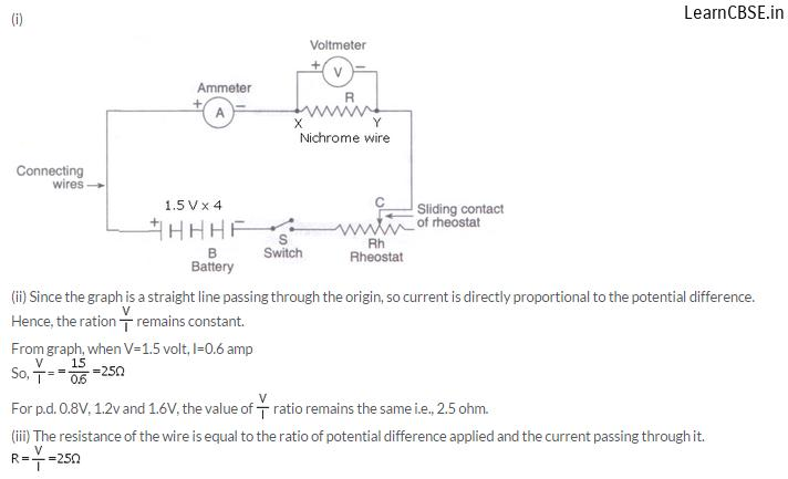 lakhmir singh physics class 10 answers Chapter 1 Electricity Q20 Page 19