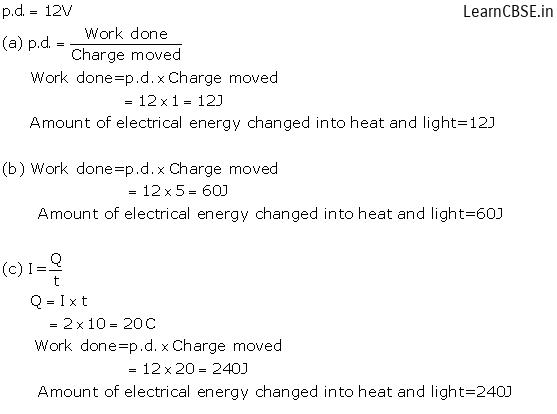 lakhmir singh and manjit kaur physics class 10 Chapter 1 Electricity Q24 Page 11