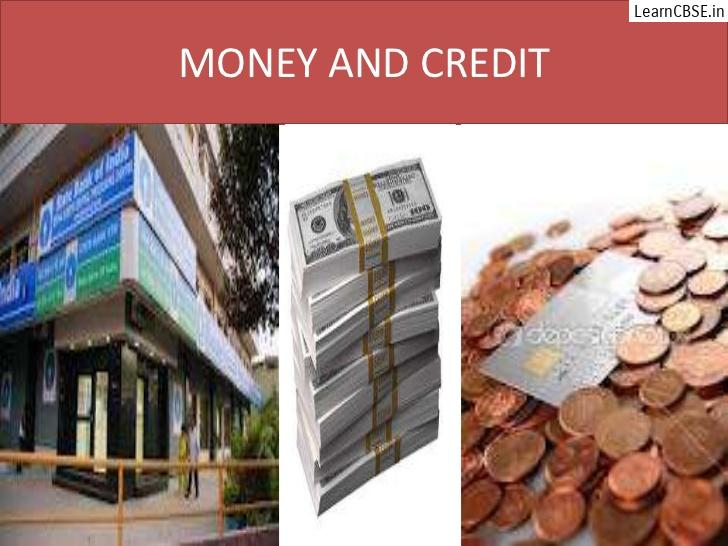 Money-and-Credit-CBSE-Class-10-Economics-Solutions-Chapter-3-Learncbse.in